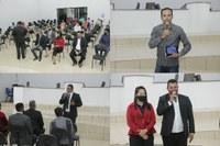 Câmara municipal de Colniza recebe pastor para realizar um momento de fé