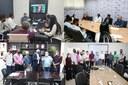 Comitiva de vereadores e prefeito de Colniza cumprem agenda em Cuiabá em busca de investimento