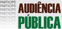 Convite - Audiência Publica