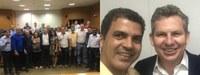 Governador eleito por Mato Grosso se reúne com a Comissão Frente Parlamentar do Noroeste e com os prefeitos