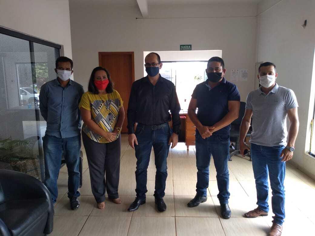 Novo gerente da Agência do Banco do Brasil de Aripuanã visita Colniza e se reúne com o presidente da Câmara Municipal de Colniza