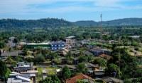 Pavimentação asfáltica no município de Colniza