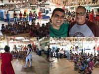 Projeto de inclusão social fazendo a diferença é apresentado na creche Raio de Sol em Colniza/MT