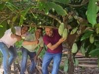 Secretário de Estado de Agricultura Familiar, Suelme Evangelista Fernandes visita Colniza