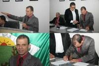 Suplente toma posse após vereador assumir cargo no Poder Executivo em Colniza/MT