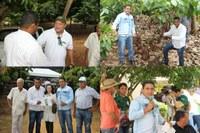Vereadores e técnico de Colniza representam o município em um Dia Especial Sobre Cacau Clonal em Rondônia