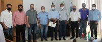 Vereadores de Colniza se reúnem com prefeito para tratar sobre a ampliação da água encanada no município